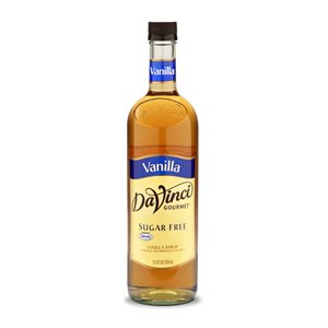 Sirop de vanille sans sucre Da Vinci Gourmet