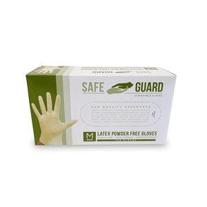 Safeguard Gants en Nitrile Sans Poudre (Moyen)
