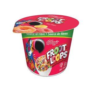 Kellogg's® Froot Loops (Breakfast Cereal Bowl)