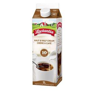 Lactantia® Cream 10% Half & Half - 1 Litre
