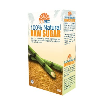 Sunbec 100% Naturel Raw Sugar