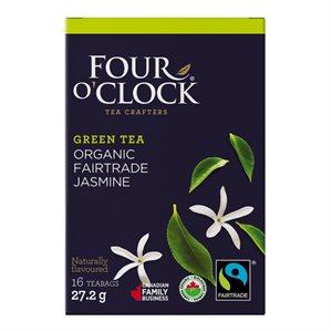 Four O'Clock Jasmine Green Tea