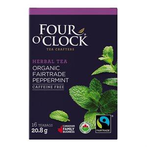 Four O'Clock Peppermint Tea