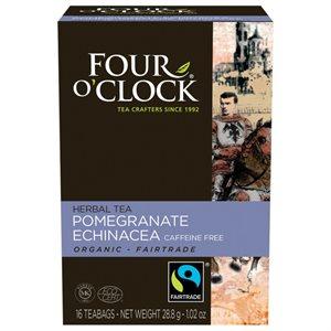 Four O'Clock Pomegranate Echinacea Tea