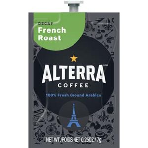 Alterra French Roast Decaf | Lavazza Pouches