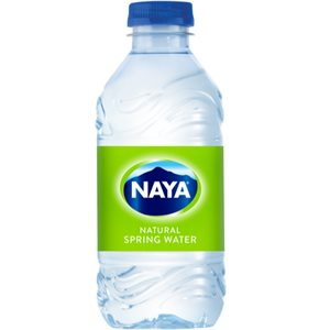 Eau de source naturelle Naya (24 X 330 ml)