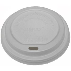 Dome Lids PLA for Take Away Cups 10-20 oz